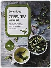 Profumi e cosmetici Maschera in tessuto con tè verde - Seantree Mask Sheet Green Tea