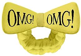 Profumi e cosmetici Fascia cosmetica per capelli, gialla - Double Dare OMG! Yellow Hair Band