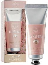 Profumi e cosmetici Crema mani e unghie - Scottish Fine Soap La Paloma Hand & Nail Cream