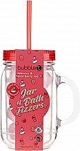 """Profumi e cosmetici Bombe da bagno nel barattolo """"Ibisco e bacche di acai"""" - Bubble T Bath Fizzers In Reusable Jar Hibiscus & Acai Berry"""