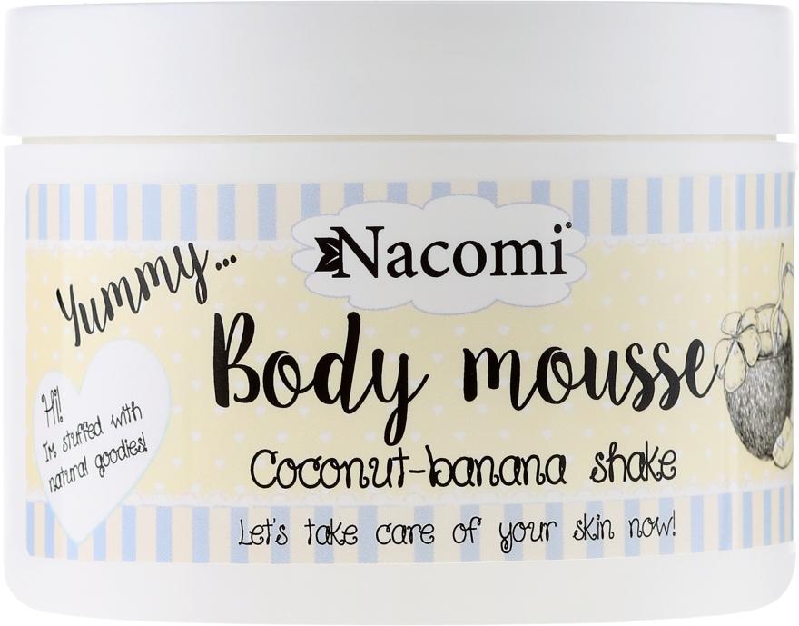 "Mousse corpo ""Frullato di banana e cocco "" - Nacomi Body Mousse Coconut-Banana Shake"