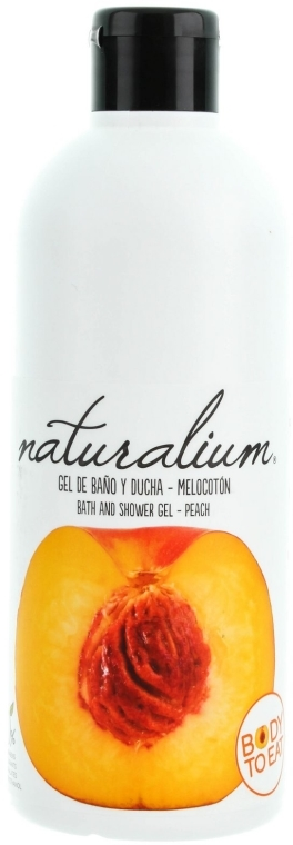 "Gel doccia nutriente ""Pesca"" - Naturalium Bath And Shower Gel Peach — foto N1"