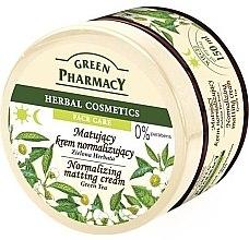 """Profumi e cosmetici Crema viso opacizzante """"Tè verde"""" - Green Pharmacy Normalizing Matting Cream"""