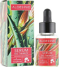 Profumi e cosmetici Siero viso, con estratto di succo di aloe - Aloesove