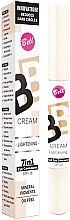 Profumi e cosmetici Correttore illuminante - Bell BB Cream Lightening 7in1 Eye Concealer