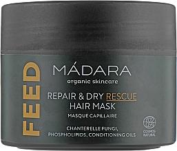 Profumi e cosmetici Maschera per capelli nutriente - Madara Cosmetics Feed Repair & Dry Rescue Hair Mask
