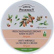 "Profumi e cosmetici Crema viso, ultra-nutriente ""Argan"" - Green Pharmacy Anti-Wrinkle Ultra Rich Cream"