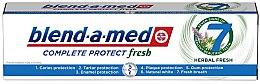 "Profumi e cosmetici Dentifricio ""Complesso di erbe"" - Blend-a-Med Complete Protect Fresh 7 Herbal Fresh Toothpaste"