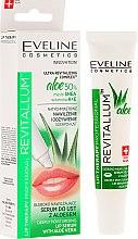 Profumi e cosmetici Siero labbra idratante - Eveline Cosmetics Lip Therapy Professional Revitallum Aloe Moisturising Lip Serum