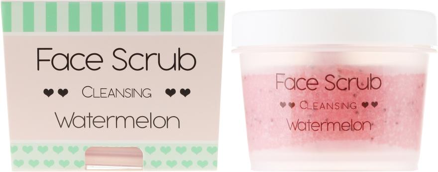 Scrub idratante per viso e labbra - Nacomi Moisturizing Face&Lip Scrub Watermelon