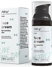 Profumi e cosmetici Crema viso idratante - Kili·g Man Day Cream