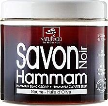 Profumi e cosmetici Sapone nero all'olio di oliva - Naturado Black Soap Hammam With Olive Oil