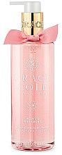 """Profumi e cosmetici Sapone liquido """"Peonia e orchidea rosa"""" - Grace Cole Peony & Pink Orchid Liquid Hand Soap"""
