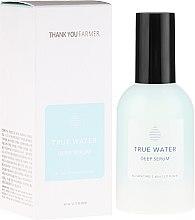 Profumi e cosmetici Siero antirughe idratante profondo - Thank You Farmer True Water Deep Serum