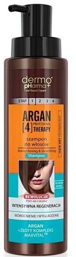 Shampoo - Dermo Pharma Argan Professional 4 Therapy Strengthening & Smoothing Shampoo — foto N1