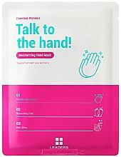 Profumi e cosmetici Maschera per mani - Leaders Essential Wonders Talk To The Hand! Mask