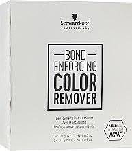 Profumi e cosmetici Lozione per rimuovere il pigmento artificiale dai capelli - Schwarzkopf Professional Bond Enforcing Color Remover