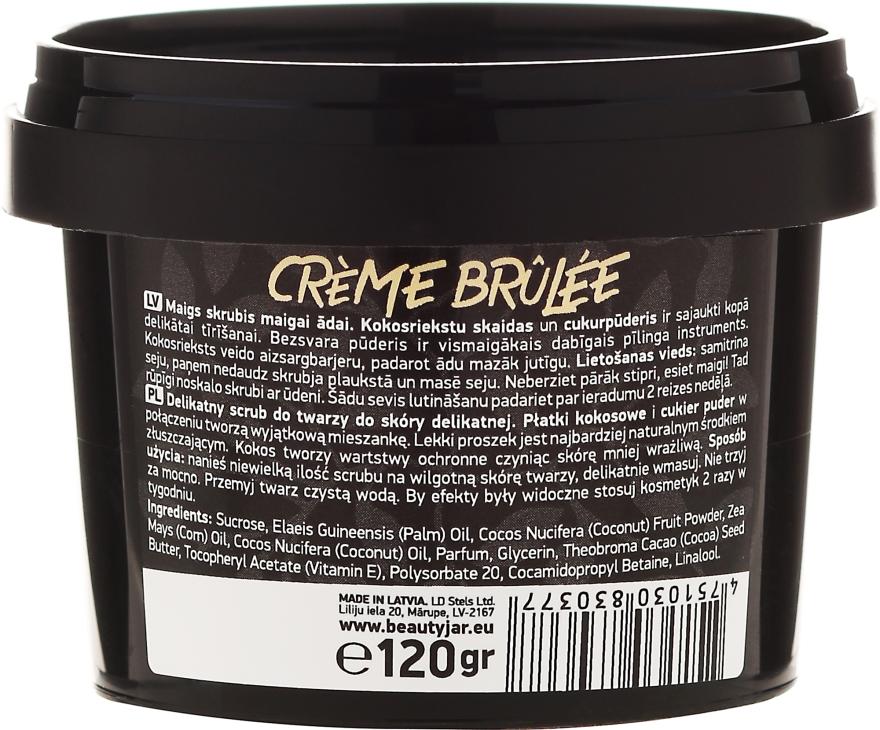 """Scrub viso per pelli sensibili """"Creme brulee"""" - Beauty Jar Gentle Scrub For Gentle Skin — foto N3"""