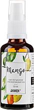 Profumi e cosmetici Olio capelli medio porosi - Anwen Mango Oil For Medium-Porous Hair (vetro)