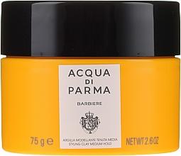Profumi e cosmetici Argilla modellante per capelli a tenuta media - Acqua Di Parma Barbiere The Styling Clay Medium Hold