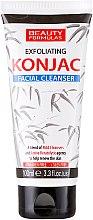 Profumi e cosmetici Gel detergente viso - Beauty Formulas Exfoliating Konjac Facial Cleanser