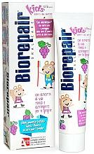 """Profumi e cosmetici Dentifricio """"Topolino allegro"""", uva - Biorepair Kids Milk Teeth"""