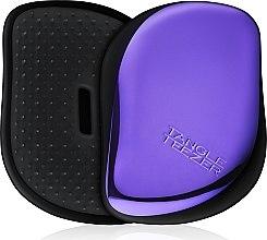 Profumi e cosmetici Spazzola per capelli compatta - Tangle Teezer Compact Styler Purple Dazzle Brush