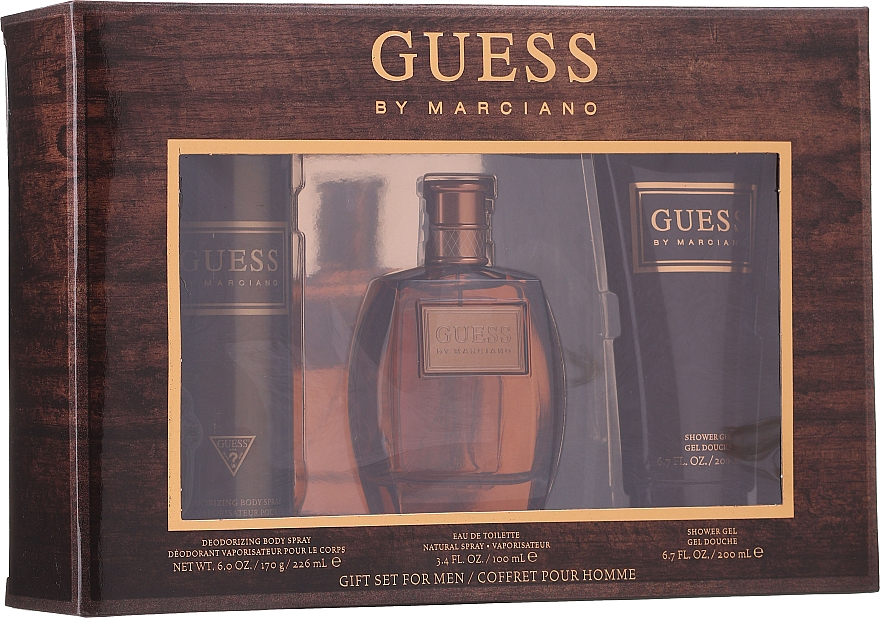 Guess by Marciano - Set (edt/100ml + sh/gel/200ml + deo/226ml)