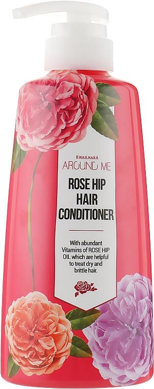 Balsamo per capelli alla rosa canina - Welcos Around Me Rose Hip Hair Conditioner