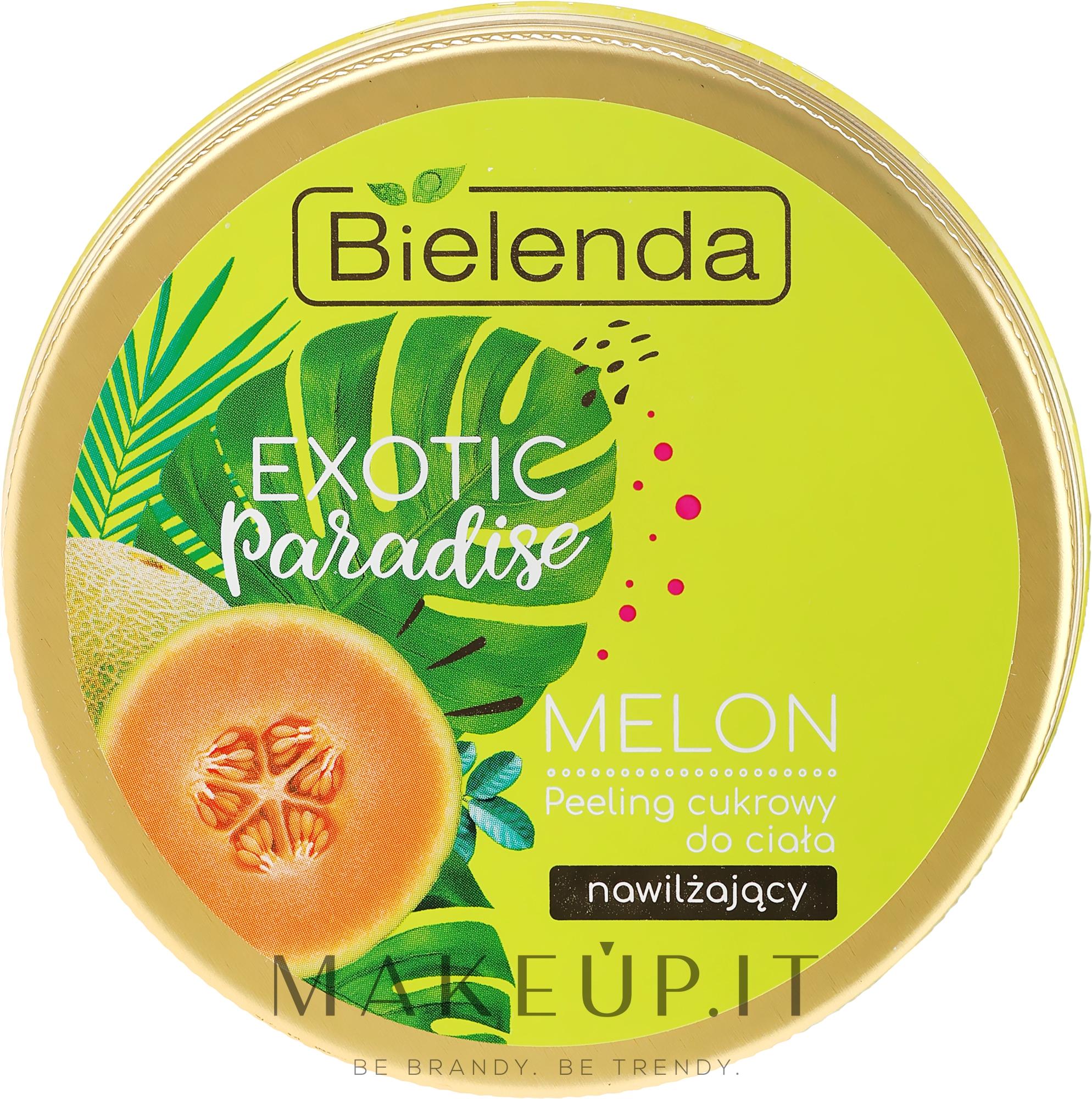 """Peeling corpo """"Melone"""" - Bielenda Exotic Paradise Peel — foto 350 g"""