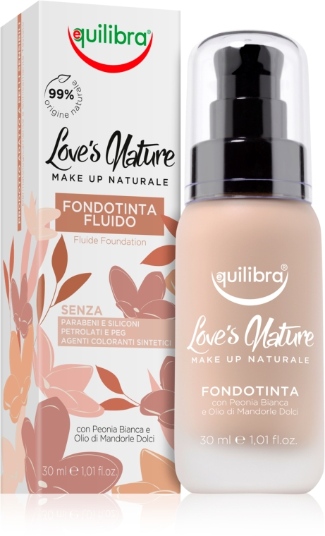 Fondotinta liquido - Equilibra Liquid Foundation Fluid