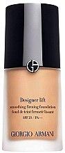 Profumi e cosmetici Fondotinta fluido - Giorgio Armani Designer Lift Smoothing Firming Foundation SPF 20