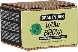 Maschera per la crescita delle sopracciglia - Beauty Jar Wow Brow! Enhancing Eyebrow Mask — foto N2