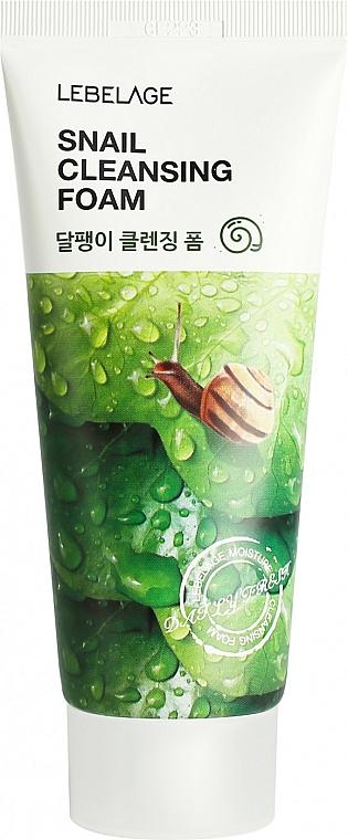 Schiuma detergente alla bava di lumaca - Lebelage Snail Cleansing Foam