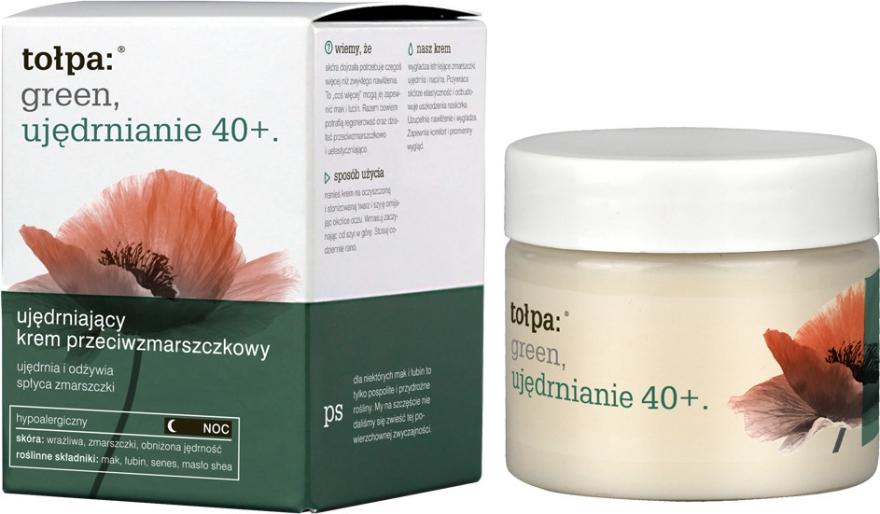 Crema notte antirughe - Tolpa Green Firming 40+ Rejuvenating Anti-Wrinkle Night Cream — foto N1