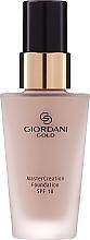 Profumi e cosmetici Fondotinta - Oriflame Giordani Gold MasterCreation Foundation SPF 18