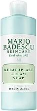 Profumi e cosmetici Sapone-crema viso esfoliante - Mario Badescu Keratoplast Cream Soap
