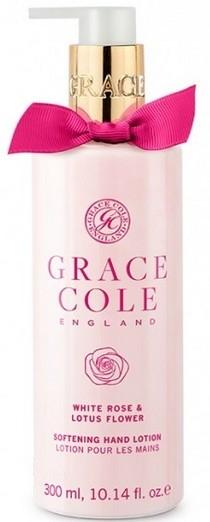 Lozione mani - Grace Cole White Rose & Lotus Flower Hand Lotion