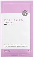 Profumi e cosmetici Maschera viso al collagene - Dewytree Collagen Melting Chou Mask