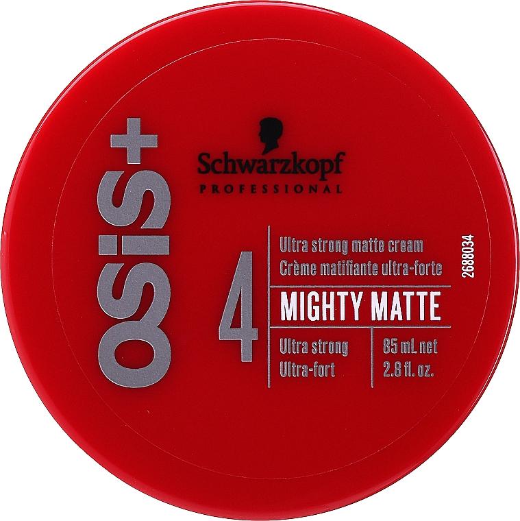 Crema per lo styling - Schwarzkopf Professional Osis+ Mighty Matte Cream