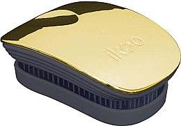 Profumi e cosmetici Pettine - Ikoo Pocket Soleil Metallic Black