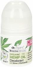 """Profumi e cosmetici Deodorante """"Olio di canapa"""" - Dr. Organic Bioactive Skincare Hemp Oil Deodorant"""
