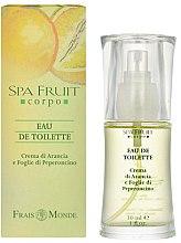 Profumi e cosmetici Frais Monde Spa Fruit Orange And Chilli Leaves - Eau de toilette