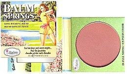 Profumi e cosmetici Blush - TheBalm Balm Springs Long-Wearing Blush
