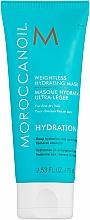 Profumi e cosmetici Maschera idratante leggera per capelli sottili - Moroccanoil Weightless Hydrating Mask Moroccanoil