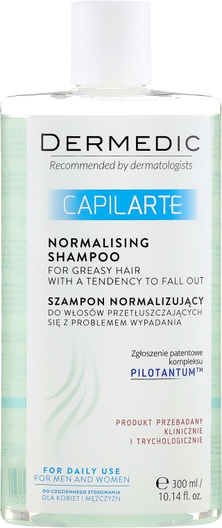 Shampoo per capelli grassi - Dermedic Capilarte Normalising Shampoo