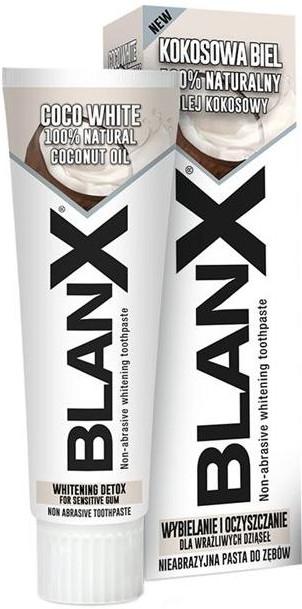 Dentifricio sbiancante non abrasivo - Blanx Coco White Toothpaste