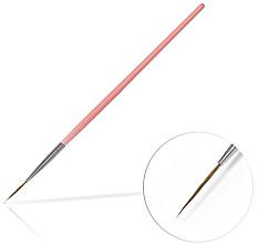 Profumi e cosmetici Pennello per gioielli 15 mm Pink - Silcare Brush 03