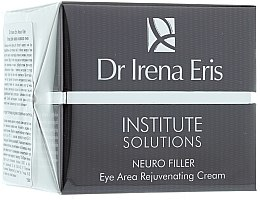 Profumi e cosmetici Crema contorno occhi rigenerante - Dr Irena Eris Institute Solutions Neuro Filler Eye Area Rejuvenating Cream