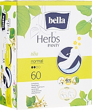 Profumi e cosmetici Assorbenti igienici Panty Herbs Tilia, 60pz - Bella